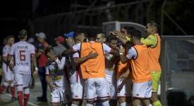Real Estelí hizo historia al meterse en cuartos de final de la CONCACAF. EFE