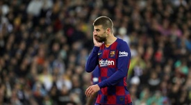 Pique, Lenglet and Umtiti, the ones who will suffer most from LaLiga's return. EFE