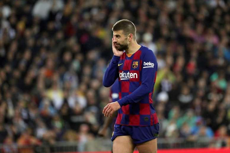 Pique's message to the fans. EFE