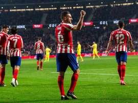 L'Atlético s'assure une recrue pour la saison prochaine. EFE