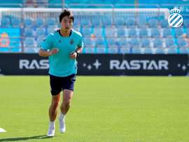Wu Lei is wanted by Wolves. EFE