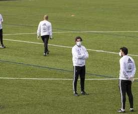 Le Celta retrouve l'entraînement individuel. EFE