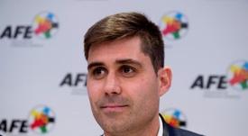 La AFE exige reunirse con la RFEF por el 'caso Portugalete'. EFE