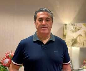 José Peseiro ofreció unas declaraciones por videollamada. EFE
