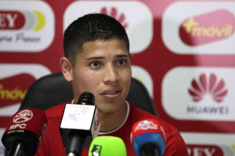 Cristian Martínez volvió a su país. EFE