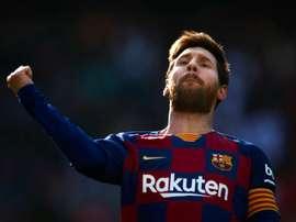 Font falou sobre o papel de Messi caso seja eleito. EFE