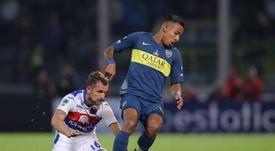 Villa se defendió de nuevo de las acusaciones de maltrato. EFE/Nicolás Aguilera