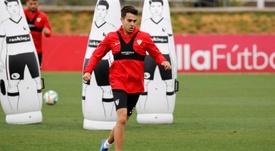 Reguilón a réalisé une belle saison sous les ordres de Lopetegui à Séville. EFE