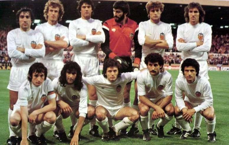 Más recuerdos de un título histórico en el Valencia. EFE