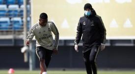 Los blancos se enfrentarán al Athletic el domingo. EFE/LaLiga