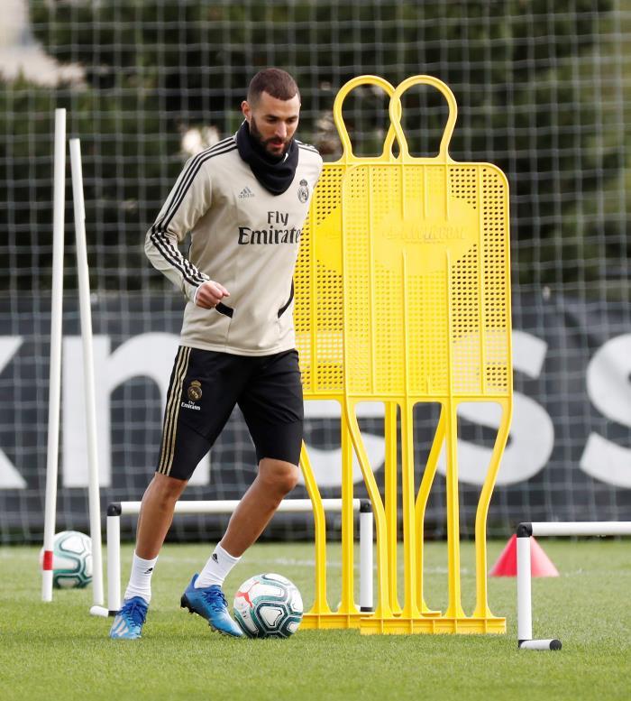 Le Real Madrid poursuit sa préparation. EFE