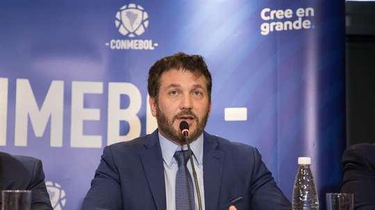 La CONMEBOL no tiene prisa con la vuelta del fútbol. EFE