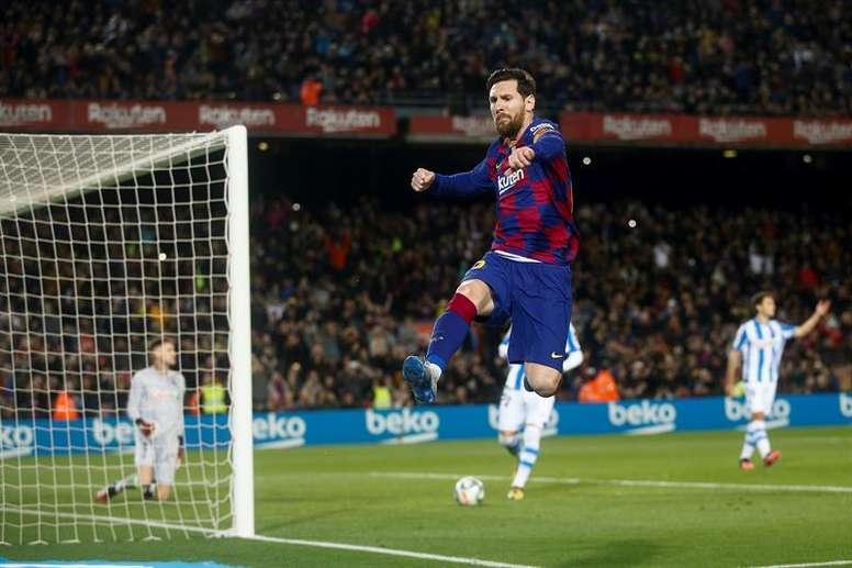 'Messi est la clé pour attirer Lautaro au Barça'. GOAL