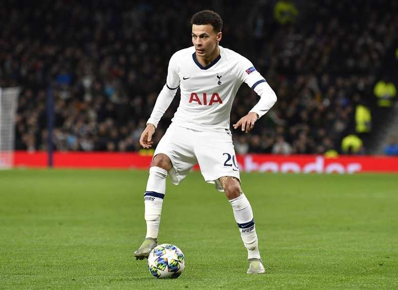 Dele Alli is wanted by PSG. EFE