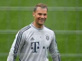 Neuer, consciente de estar en el foco mediático. EFE/EPA/Archivo