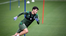 Betis want to keep Aleñá. EFE