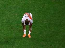 Jogador do futebol russo testa positivo para COVID-19. EFE/Marcelo Chello