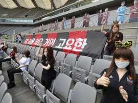 El Seoul tuvo que pedir perdón. EFE