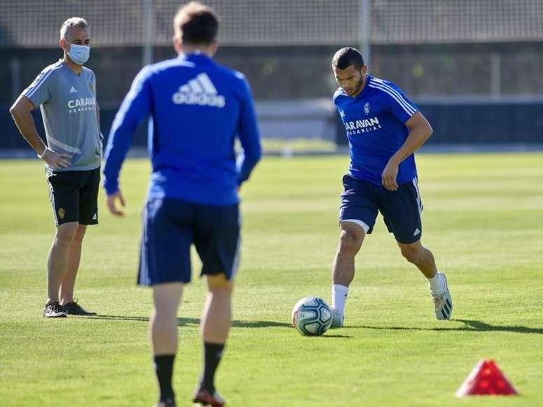 El Watford se niega a dejarle al Zaragoza a Luis Suárez para el 'play off'. EFE/Tino Gil
