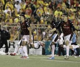 El fútbol costarricense se reanudará en breve. EFE/Archivo