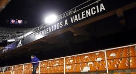 Deux cas de COVID-19 au FC Valence. afp