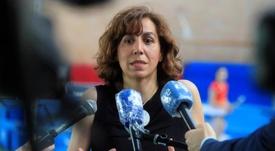 Irene Lozano lo anunció en los Premios Lilí Álvarez 2020. EFE