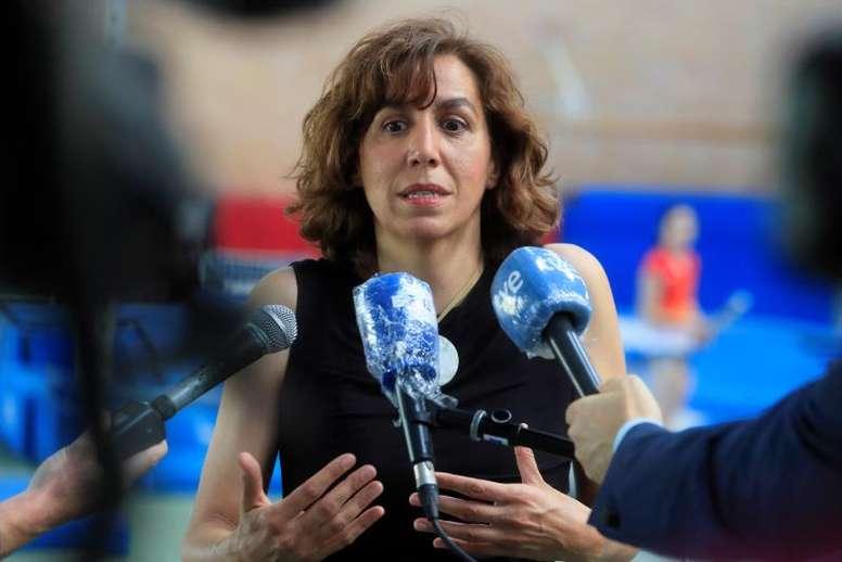 Irene Lozano habló sobre el público en los estadios. EFE