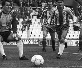 Ablanedo, gran guardameta del Sporting en los años 80 y 90. EFE