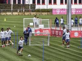 El Bayern recibirá la visita esta jornada del Eintracht. EFE/EPA/Archivo