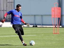 Adán, très proche du Sporting CP. EFE