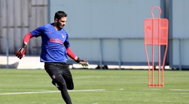 Adan will sign for Sporting Lisbon. EFE