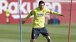Leo Messi apoia a UNICEF. EFE/FC Barcelona/Miguel Ruíz