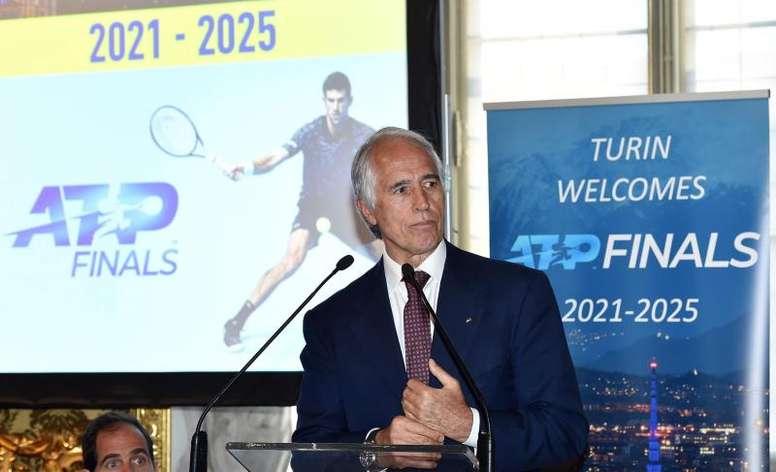Malagò criticó a la Serie A. EFE/Archivo