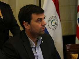 Trovato tachó la sanción que le impuso la FIFA de juicio político. EFE/Alberto Peña/Archivo