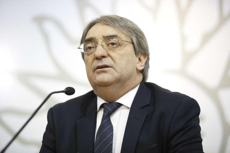 En la imagen, el presidente honorario del Consejo Iberoamericano del Deporte (CID), Fernando Cáceres. EFE/Ana Paula Chain/Archivo