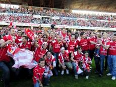 Una década con el Granada entre los grandes. EFE