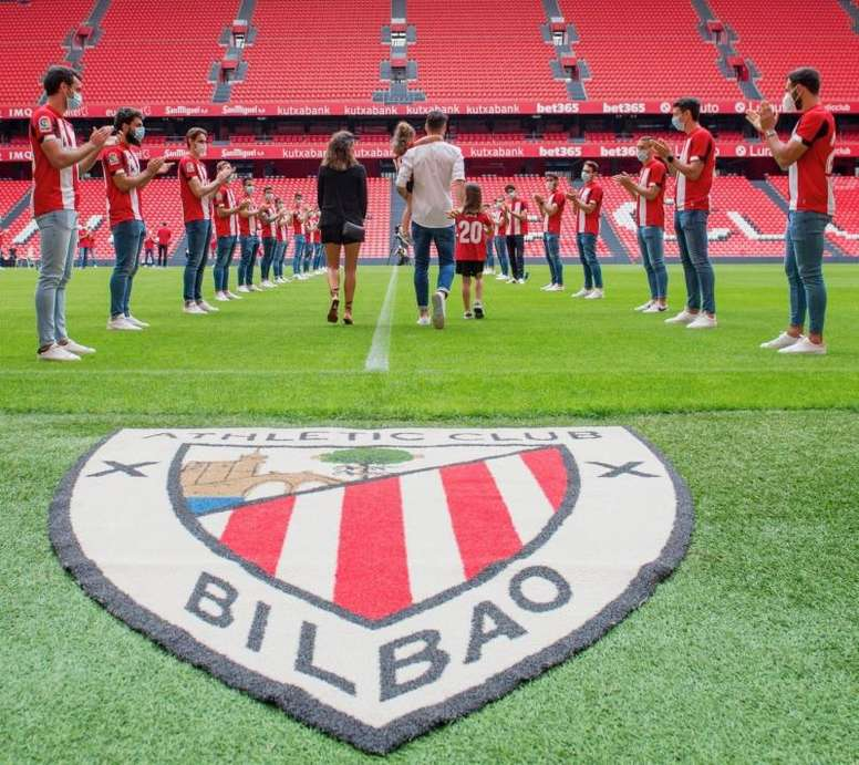 A exemplar filosofia do Athletic Bilbao. EFE
