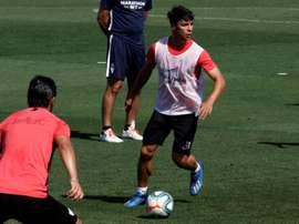 Le FC Séville poursuit sa préparation, tourné vers le derby. EFE