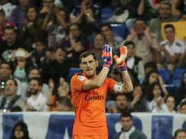 Casillas promises to return to Real Madrid in the future. EFE