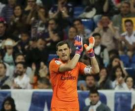 Iker Casillas deixou mensagem à torcida do Real Madrid. EFE/Ballesteros/Arquivo