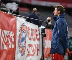Müller évoque sa passe décisive à Goretzka. EFE