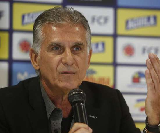 Carlos Queiroz exigió un calendario mundial uniforme. EFE