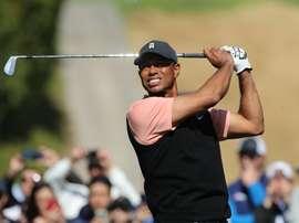 En la imagen, el golfista estadounidense Tiger Woods. EFE/David Swanson/Archivo