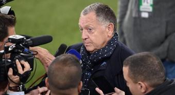Aulas, Bosz et les réactions après PSG-Lyon. EFE