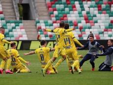 El BATE ha ganado la Copa en el último suspiro. EFE/EPA