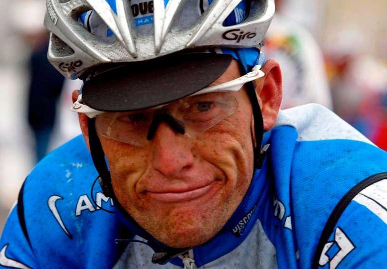 Imagen de archivo del exciclista estadounidense Lance Armstrong.EFE/Srdjan Suki/Archivo