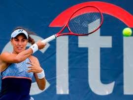 En la imagen, la tenista puertorriqueña Mónica Puig. EFE/Erik S. Lesser/Archivo