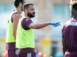 Mario Gaspar apunta como objetivo el retorno a Europa. EFE/VillarrealCF