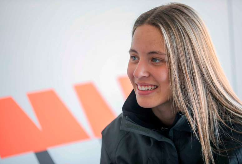 La piloto valenciana Nerea Martí. EFE/Ana Escobar/Archivo