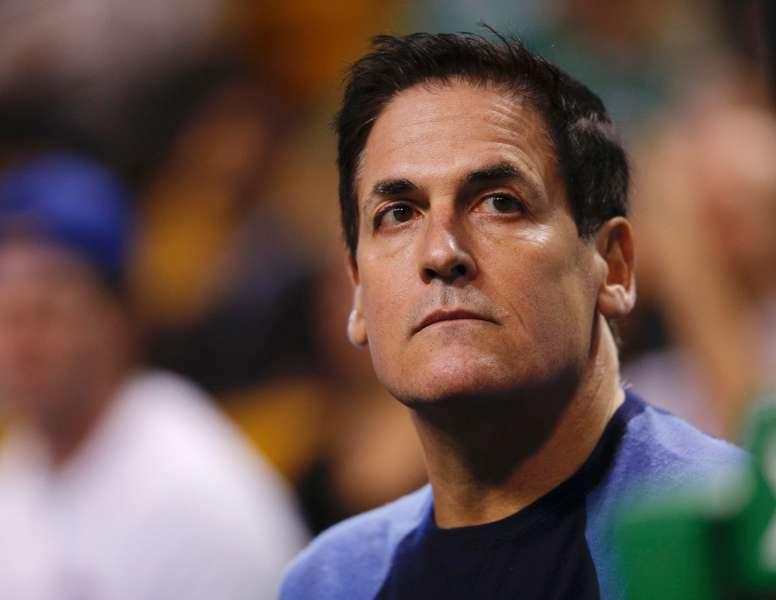 En la imagen el dueño de los Mavericks Dallas, Mark Cuban. EFE/CJ GUNTHER/Archivo